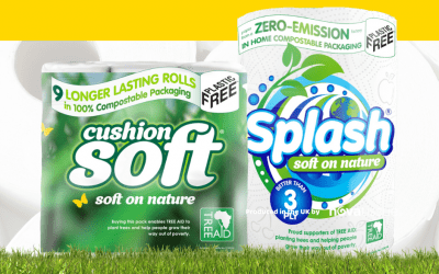 Nova Tissue extends 'Soft on Nature' range with new budget eco-friendly kitchen towel and partnership with zero-emissions paper mill