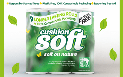 How Nova Tissue is taking a new approach to going 'Soft on Nature' with new eco-friendly range of toilet tissue